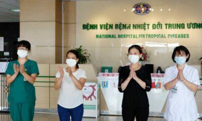 Cập nhật tình hình COVID-19 tại Việt Nam (Ngày T5 21/5): Không ghi nhận ca nhiễm nCoV mới, bệnh nhân nặng âm tính | The Thaiger