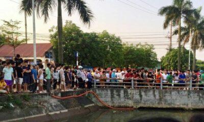 Hà Nội: 2 bác cháu bị dòng nước cuốn vào gầm cầu rồi đuối nước | The Thaiger