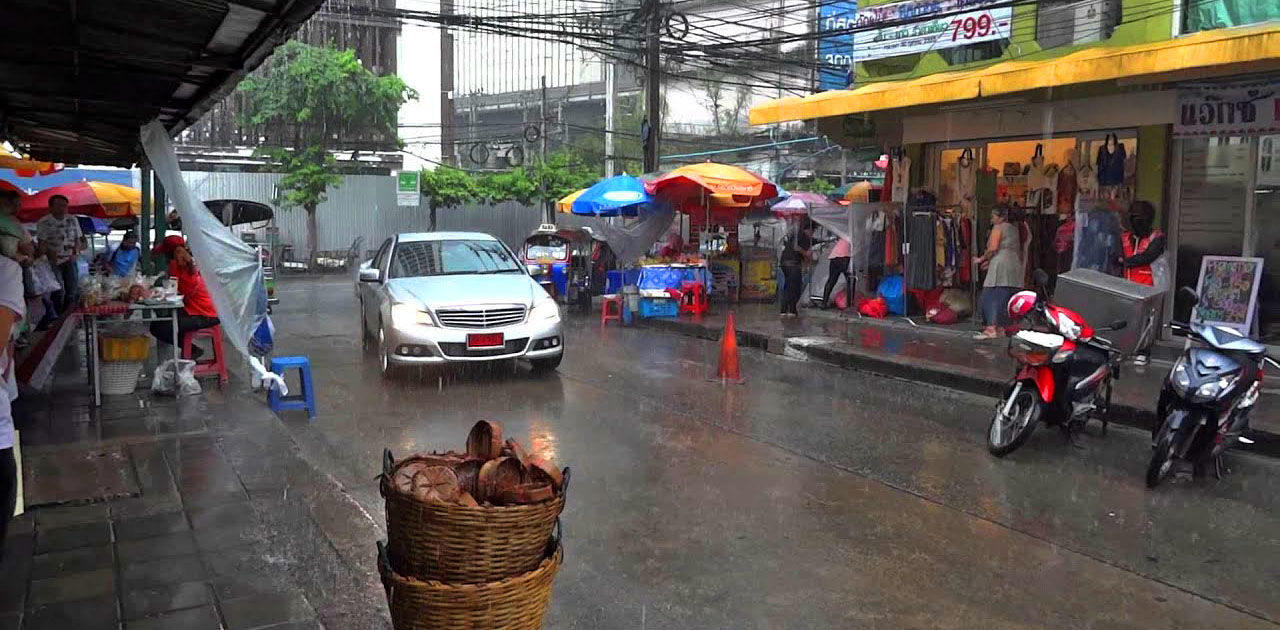 Thailand's monsoon and wet season explained | News by The Thaiger
