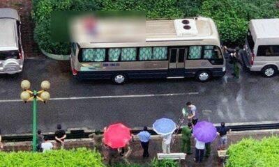 Hà Nội: Người đàn ông rơi từ tầng 18 chung cư, tử vong trên nóc ô tô | The Thaiger