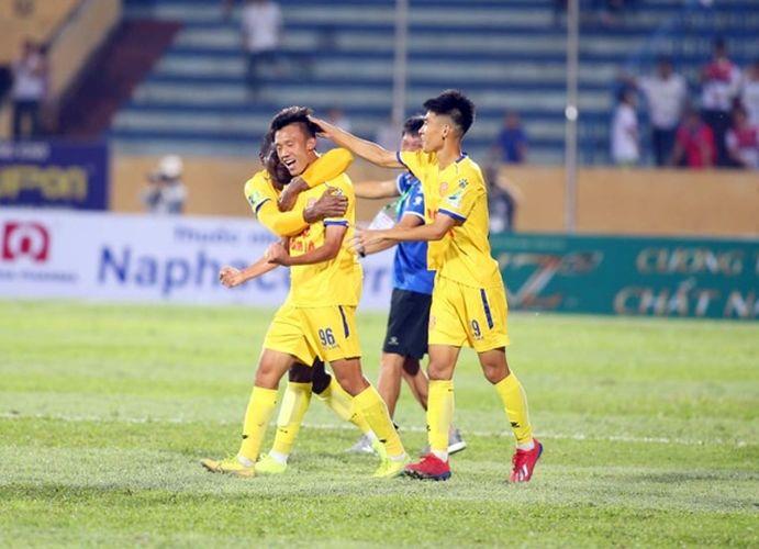 Kết quả bóng đá: Nam Định