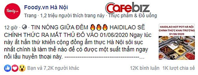Giới trẻ Hà thành phát sốt vì chuỗi lẩu Haidilao chuẩn bị đổ bộ Hà Nội   News by Thaiger