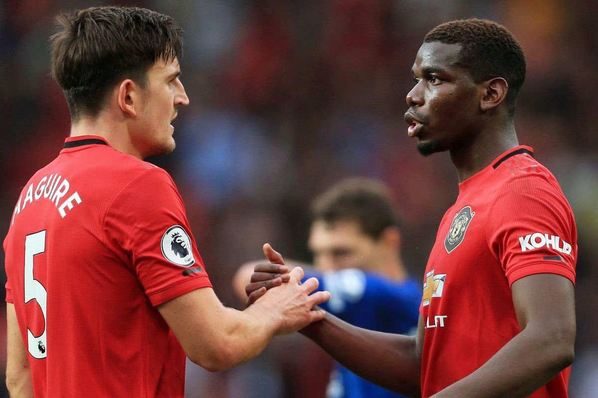 Harry Maguire muốn MU giữ Pogba   News by Thaiger