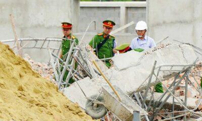 Vụ sập tường khiến 10 người chết tại Đồng Nai: Bắt giữ giám đốc đơn vị thi công | The Thaiger