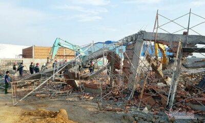 Đồng Nai: Sập công trình xây dựng khiến ít nhất 10 người chết, nhiều người bị thương | Thaiger