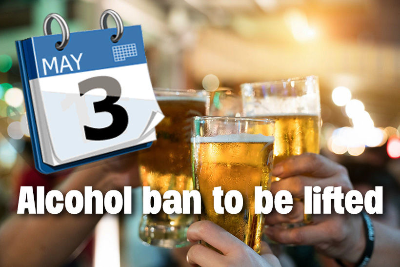 National alcohol ban to be lifted from Sunday, May 3 | The Thaiger