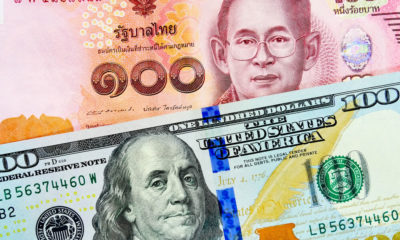 Thai baht up 3% against USD over past month | Thaiger