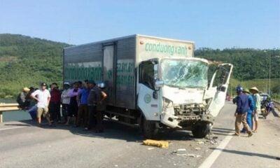 Hà Tĩnh: 4 ô tô đâm liên hoàn trên quốc lộ 1A | The Thaiger