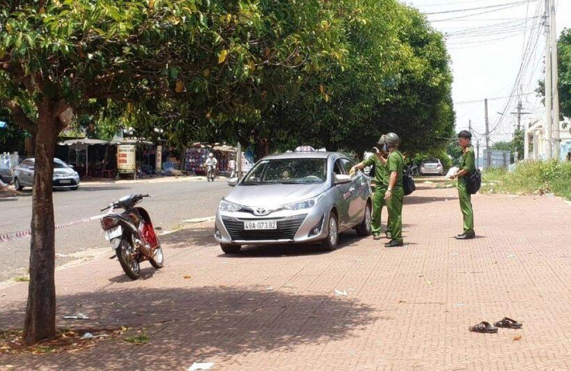 Đắk Nông: Lái xe đâm chết đồng nghiệp vì giành cuốc taxi   News by Thaiger