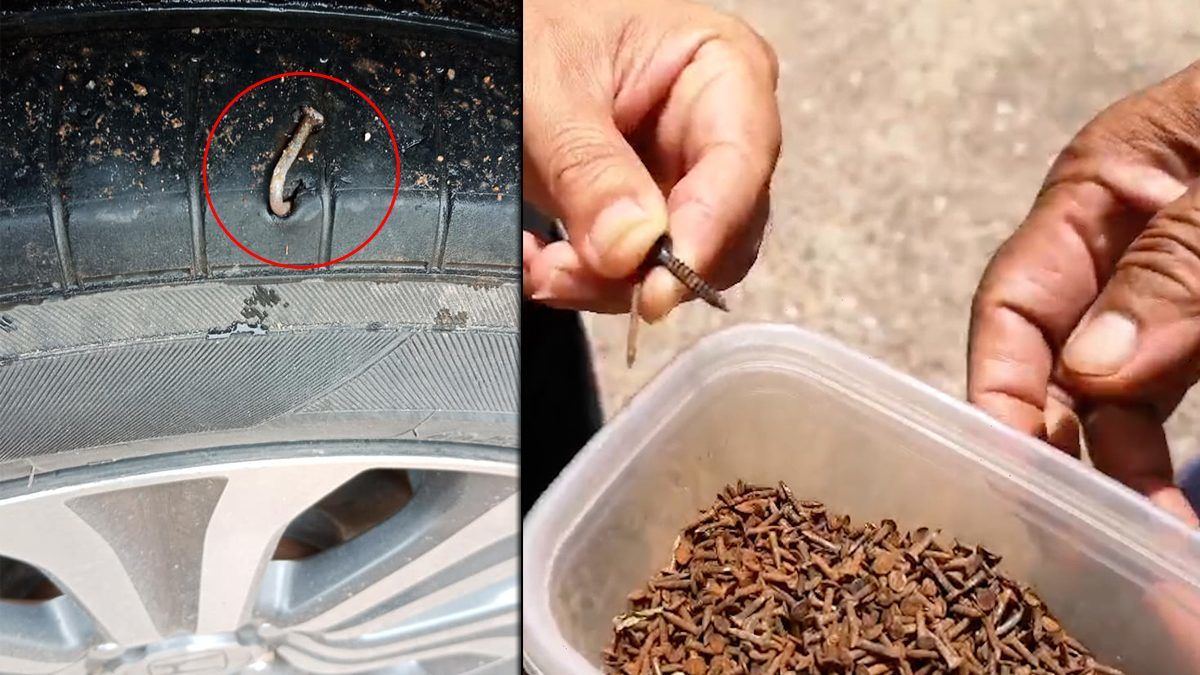 Khon Kaen police investigate tyre puncture epidemic | The Thaiger