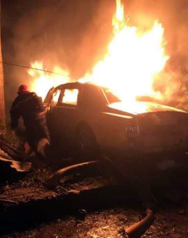 Quảng Ninh: Siêu xe Rolls-Royce Phantom biển tứ quý 8 bốc cháy dữ dội | News by Thaiger
