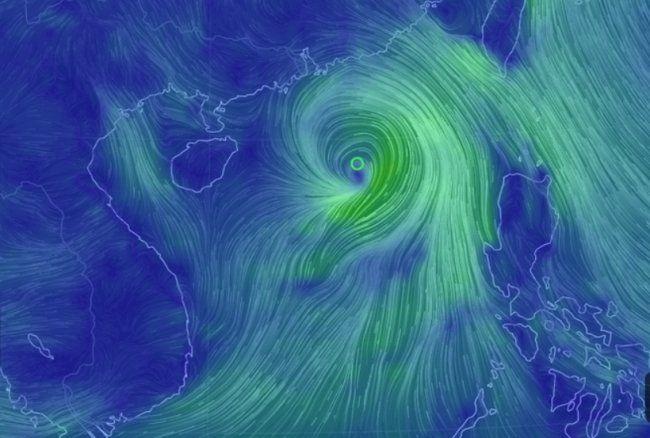 Tin bão mới nhất: Bão số 1 giật cấp 11 gây sóng cao 5 m   News by Thaiger