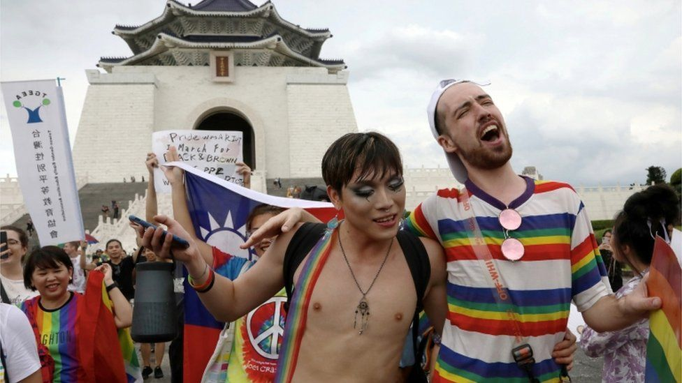 Taiwan hosts gay pride march for other countries | News by The Thaiger