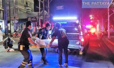 Elderly woman dies in hit and run on Pattaya Beach Road | Thaiger