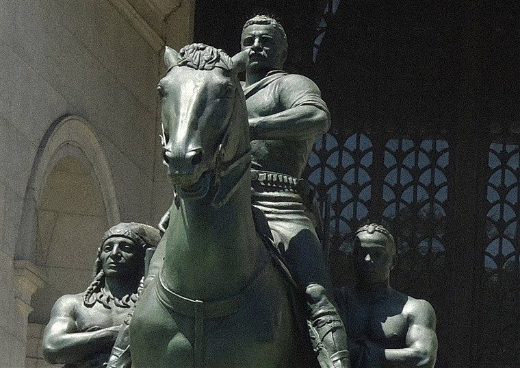 New York museum takes down Theodore Roosevelt statue   The Thaiger