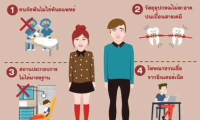 Thai doctors warn about the dangers of fashion braces | Thaiger