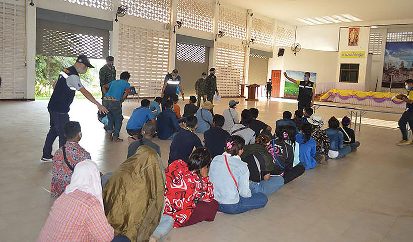 31 illegal Cambodian migrant workers apprehended in border town | The Thaiger