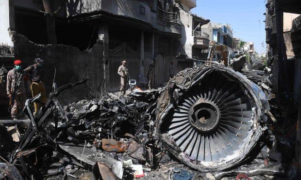 "Pakistani plane crash ""due to pilot error"" | The Thaiger"