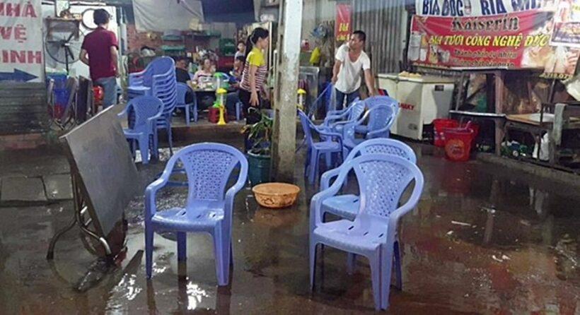 Bình Dương: Nhóm thanh niên bị chém gần đứt 2 tay sau khi mời bia người lạ | News by Thaiger