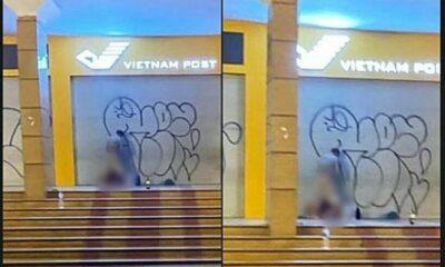Hà Nội: Cặp đôi thản nhiên làm tình trước Bưu điện Hà Nội khiến nhiều người nóng mắt | Thaiger