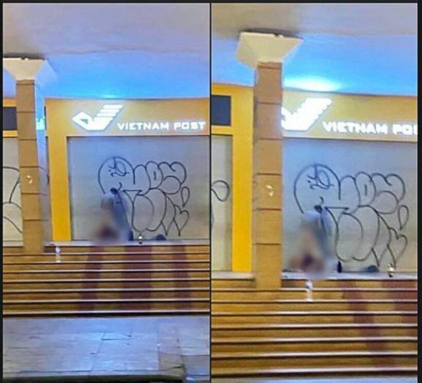 Hà Nội: Cặp đôi thản nhiên làm tình trước Bưu điện Hà Nội khiến nhiều người nóng mắt | The Thaiger