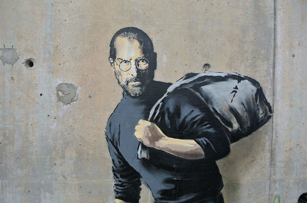 Six arrested over stolen Banksy artwork in Paris | The Thaiger