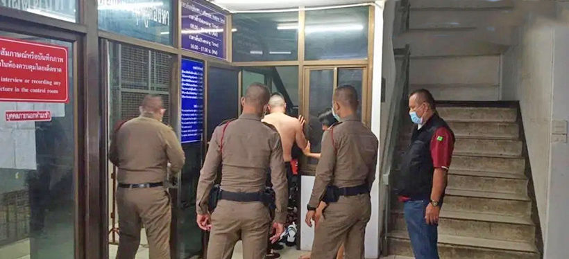 Pattaya police arrest intoxicated Chinese man, Thai girlfriend in front of station - VIDEO | News by The Thaiger