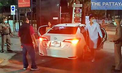 Pattaya police arrest intoxicated Chinese man, Thai girlfriend in front of station – VIDEO   Thaiger