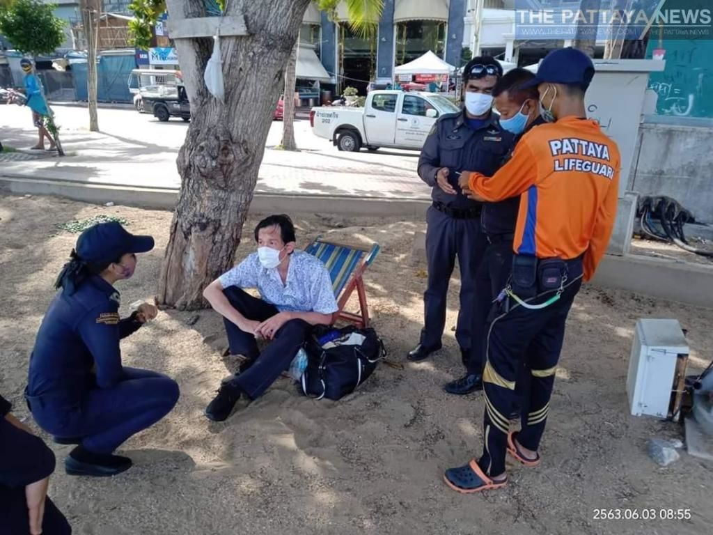 Show of support for Japanese man stranded in Pattaya | News by The Thaiger