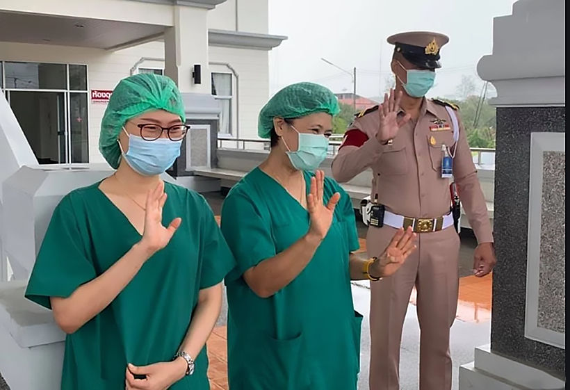 With all patients recovered, Phuket closes its Covid-19 field hospital | The Thaiger