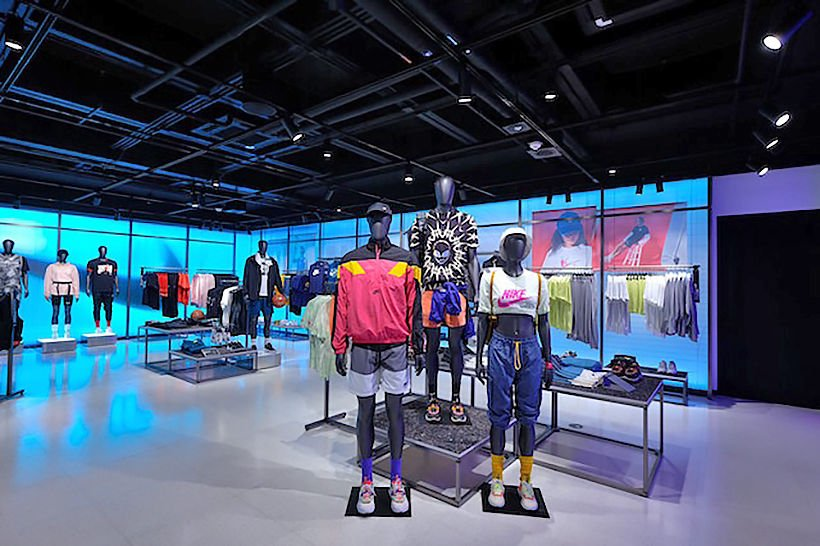 Huge Nike flagship store opens in Bangkok's Siam Center | The Thaiger