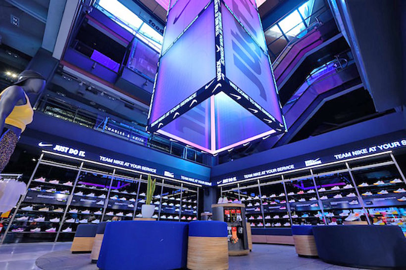 Huge Nike flagship store opens in Bangkok's Siam Center | News by The Thaiger