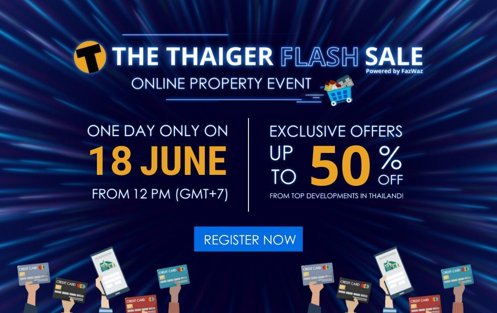 4 reasons why you should register for this Thursday's Thaiger Flash Sale | The Thaiger