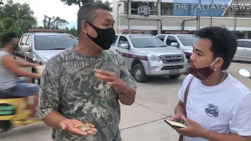 Gold necklace snatched from Banglamung motorcyclist – again | The Thaiger