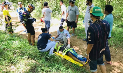 Injured adventure cyclist rescued in Chon Buri forest – VIDEO | Thaiger