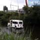 Chon Buri minivan lands in pond after SUV collision | Thaiger