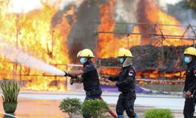 Billions in illicit drugs burned in Thailand and Myanmar | The Thaiger