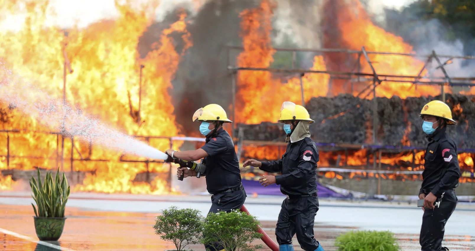 Billions in illicit drugs burned in Thailand and Myanmar   The Thaiger