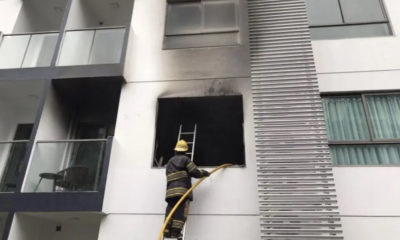 Pattaya condo destroyed by blaze – VIDEO | The Thaiger