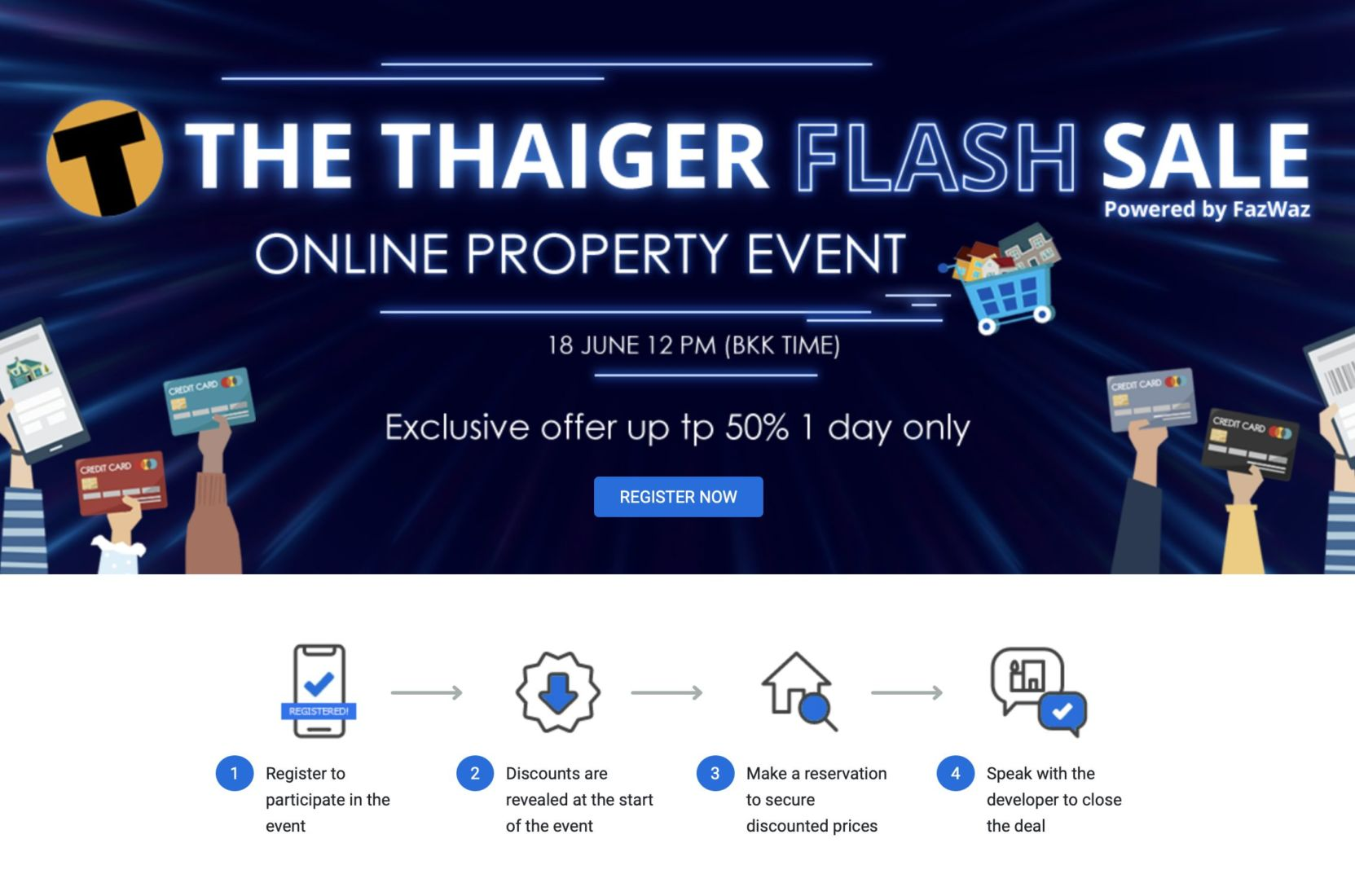 Developers need to clear stock, heavy discounting in property market   News by Thaiger