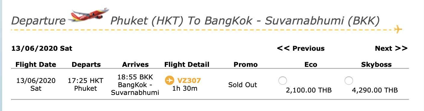 Phuket Airport is open for business. Flights available today. | News by Thaiger