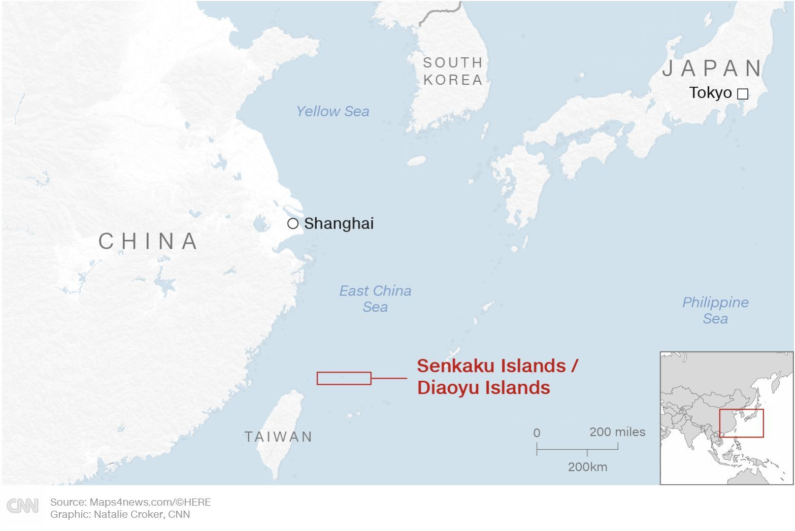 Japan and China island-rights battle heating up | News by The Thaiger
