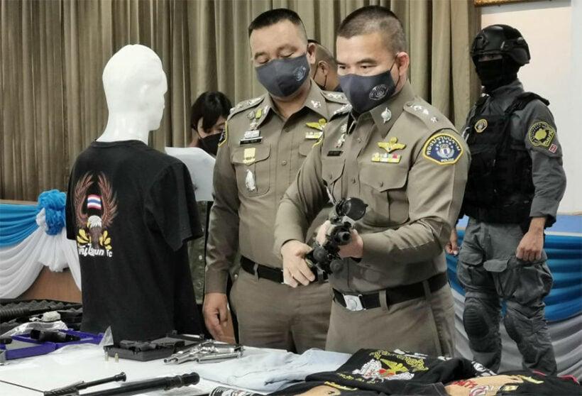 Illegal online gun dealer nabbed in Nonthaburi | News by Thaiger