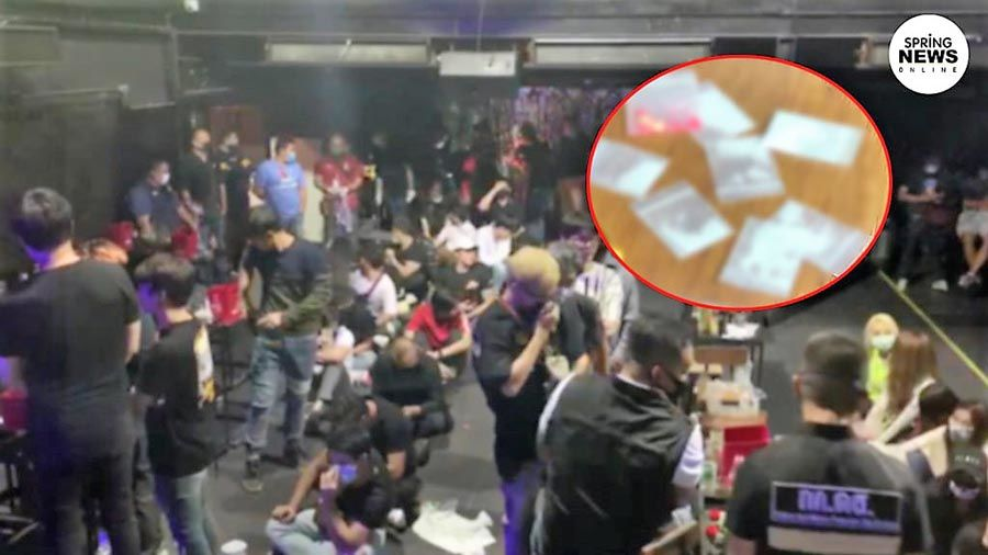 Bangkok bar raided, nearly 100 revellers charged with breaching emergency decree | The Thaiger