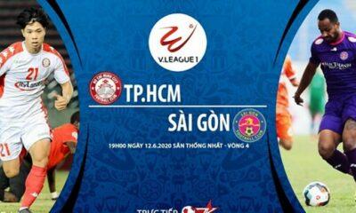 Kết quả bóng đá V-League vòng 4: TP. HCM vs Sài Gòn – Thắng 1 quả, Sài Gòn FC giành 3 điểm | Thaiger