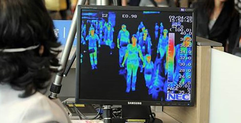 Thailand to produce thermal face scanner for use in public spaces | The Thaiger