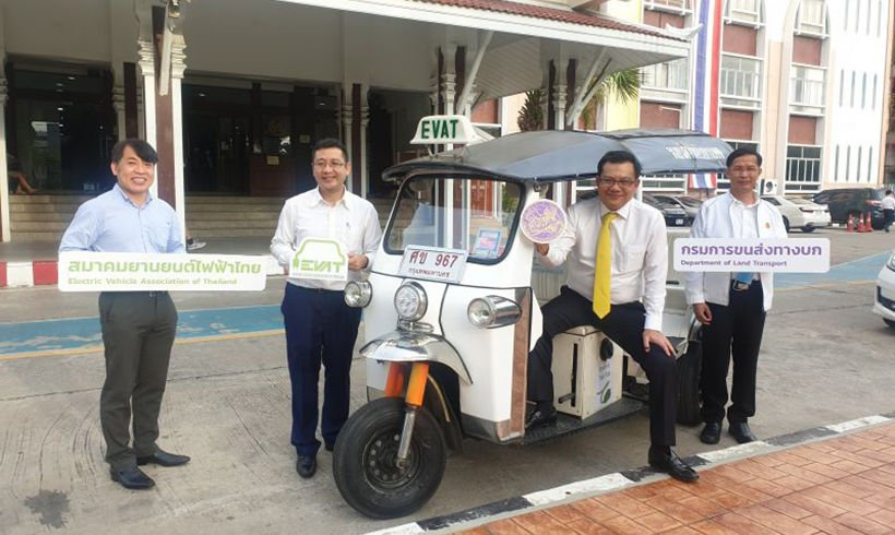 Powering up tuk tuks for a new era in Bangkok | The Thaiger
