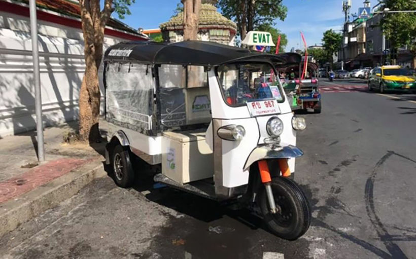 Powering up tuk tuks for a new era in Bangkok | News by The Thaiger