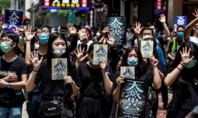 Hong Kong residents protesters of new national security law arrested | The Thaiger