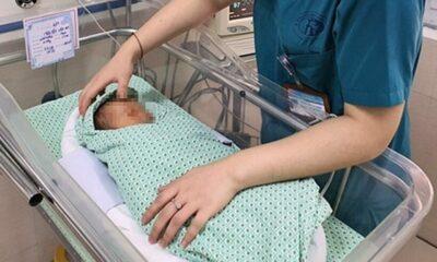 Hà Nội: Em bé sơ sinh bị bỏ rơi nhiều ngày dưới hố ga đã qua đời | Thaiger